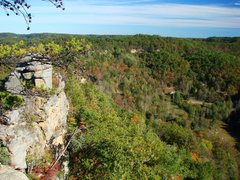 Rock Climbing Photo: October '08, shot of the Miguel's campground from ...