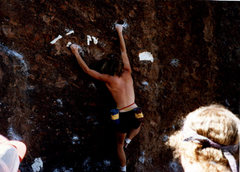 Rock Climbing Photo: Brad Smith at 3rd annual Phoenix Bouldering contes...