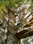 Rock Climbing Photo: Ant's Line on a fall day waiting for a Gunks Reuni...