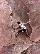 Rock Climbing Photo: Bastille Crack, Eldorado Canyon.