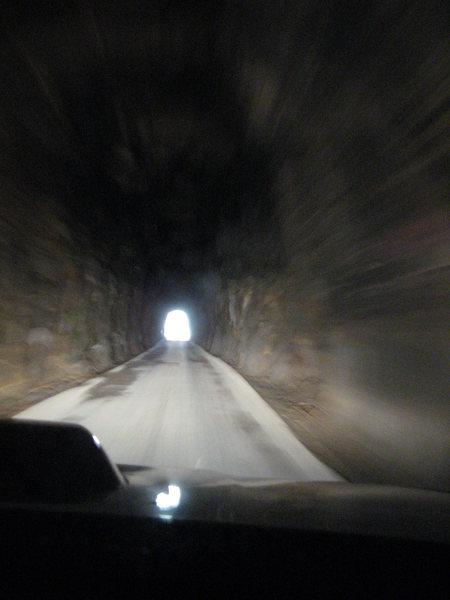 Rock Climbing Photo: The Nada tunnel.