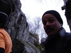 Rock Climbing Photo: Mustache Master- Seth Carlson.  Boulder Bash 2008.