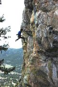 Rock Climbing Photo: small crag in estes.