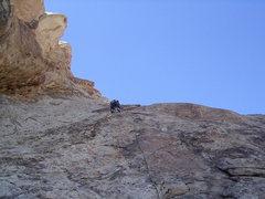Rock Climbing Photo: Pitch 3 .Photo Pat Moe