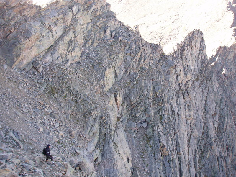 Rock Climbing Photo: sawtooth ridge