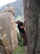 Rock Climbing Photo: .11 next to tabula rasa