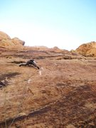 Rock Climbing Photo: Crux moves.