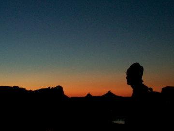 Rock Climbing Photo: sunset over indian creek