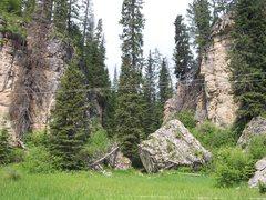 Rock Climbing Photo: Ice Box