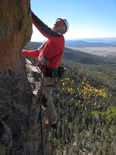 Rock Climbing Photo: Sir Chris Bonington,third pitch,BMPM. FoleyPhoto