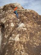 Rock Climbing Photo: Lucy sends