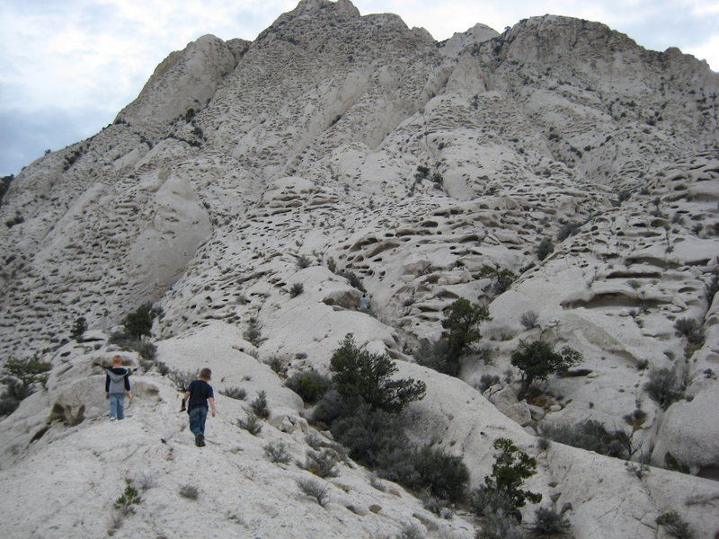 Rock Climbing Photo: crystal peak is a very strange place