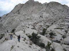 Rock Climbing Photo: crystal peak is a very strange place