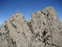 Rock Climbing Photo: Little Squaretop (left) and Little Squaretop Massi...
