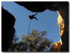 Rock Climbing Photo: Final rap off Warpaint