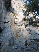 Rock Climbing Photo: John leading Animation for the day's warm up. Patr...