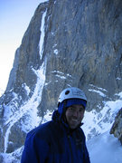 Rock Climbing Photo: had to take one for the team on La Goutte. The Ter...