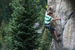 Rock Climbing Photo: C. Treiber styling Owl on the Prowl.