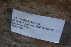 Rock Climbing Photo: Beta sticker from Triple Crown 08
