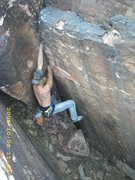 Rock Climbing Photo: Fade to Black FA