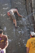 Rock Climbing Photo: Bradley getting it done.