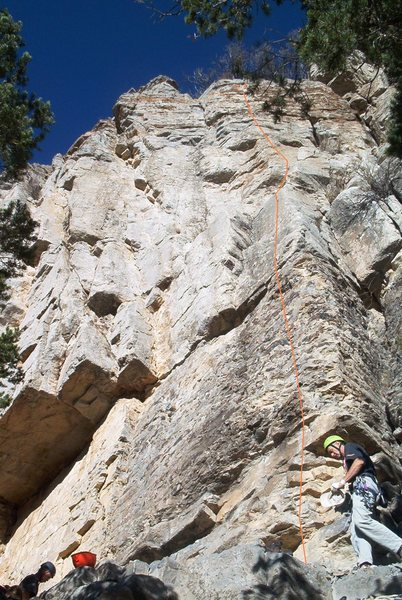 Don't Miss Out (5.9), The Far Side II, Palomas Peak, NM