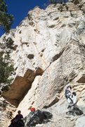 Rock Climbing Photo: Tiger by the Tail (5.9+), The Far Side II, Palomas...