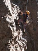 Rock Climbing Photo: Cody-man taking full advantage of his small finger...