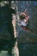 Rock Climbing Photo: Kelly Bell on White Rabbit
