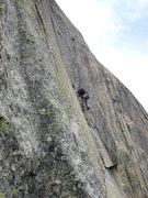 Rock Climbing Photo: Pitch eight