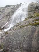 Rock Climbing Photo: Along the trail towards Eldorado