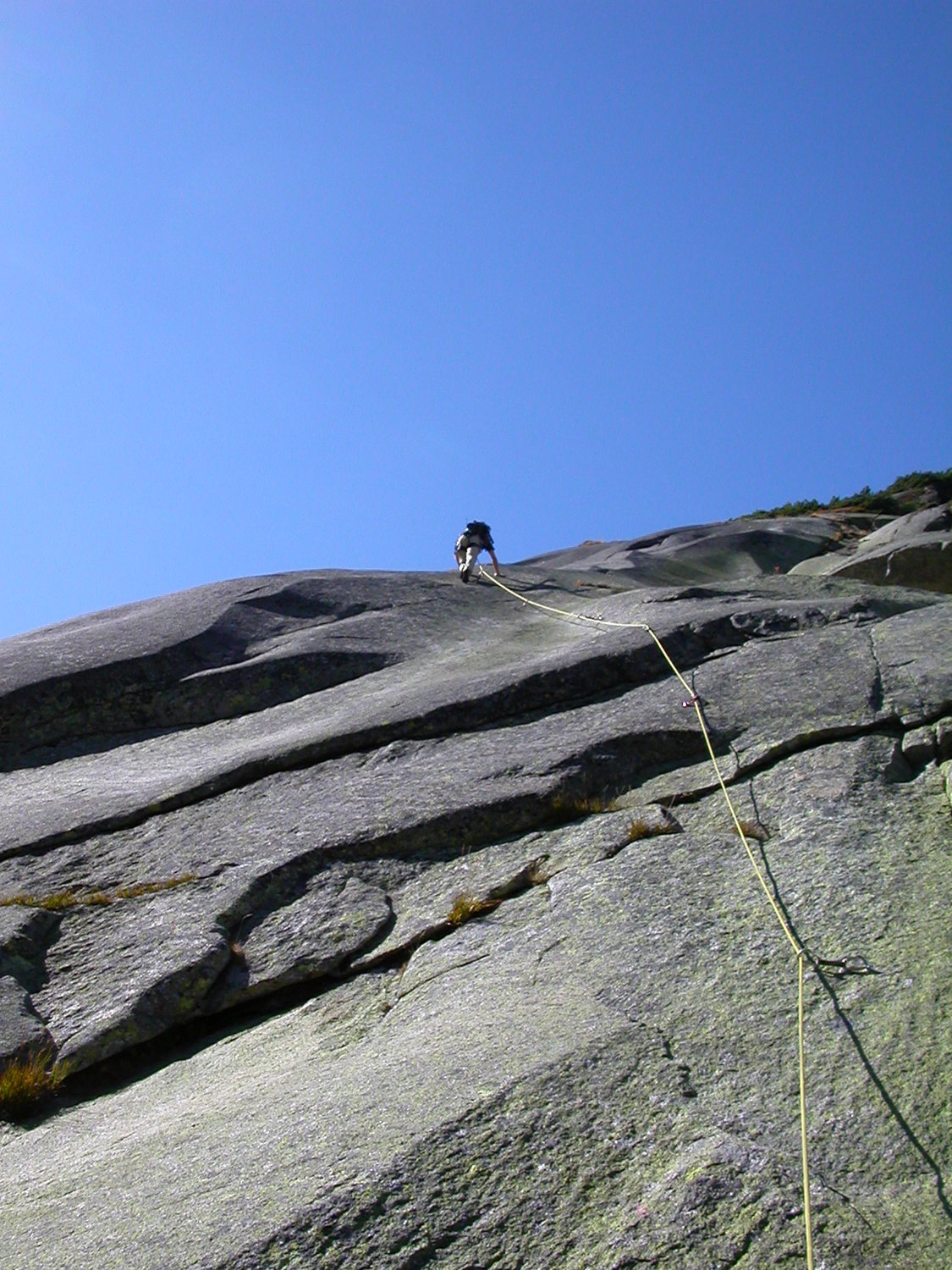 Rock Climbing Photo Vintage Grimsel granite Sector