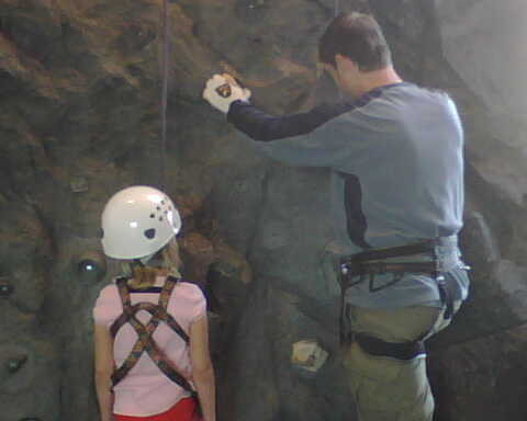 Rock Climbing Photo: A pic of my daughter