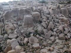 Rock Climbing Photo: The Sand Truck, 5.11