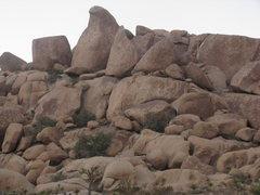 "Rock Climbing Photo: The ""Bird Beak"" formation"