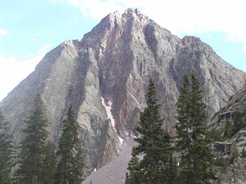 Rock Climbing Photo: North face of Mt. Silex.