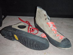 Rock Climbing Photo: First pair of climbing shoes.
