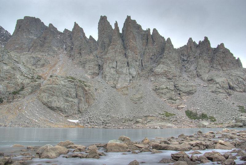 Colorado. Sky Pond in November.