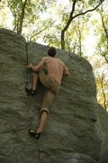 Rock Climbing Photo: Webber Seam