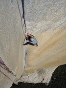 Rock Climbing Photo: following corner on freerider