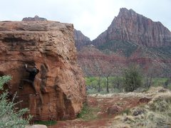 Rock Climbing Photo: zion bouldering