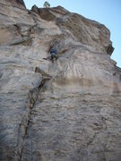 Rock Climbing Photo: Thor Husted climbing Reclamation for the first asc...