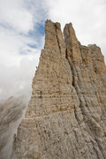Rock Climbing Photo: Torre Vajolet, Dolomites photo:Simon Carter