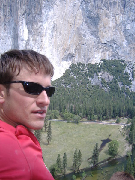 Shot from high on C.P.of F., Yosemite.