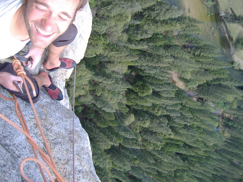 Rock Climbing Photo: Another C.P. of F. shot.  Yosemite.