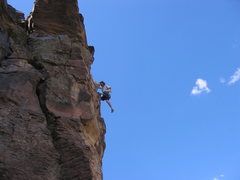 "Rock Climbing Photo: Jay Foley first ascent ""Strike it Rich"" ..."