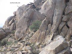 Rock Climbing Photo: Cut Thin To Win