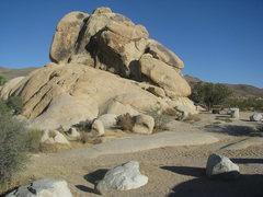 Rock Climbing Photo: Backside of McClure's Clump
