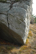 Rock Climbing Photo: Climb the slopey bulge