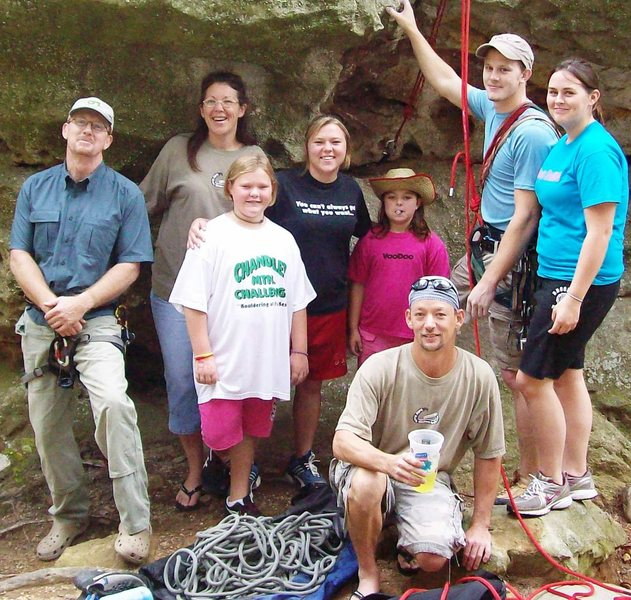 Rock Climbing Photo: The crew at Sand Rock!
